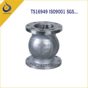 Iron Casting Machinery Parts Control Valve Ball Valve pictures & photos