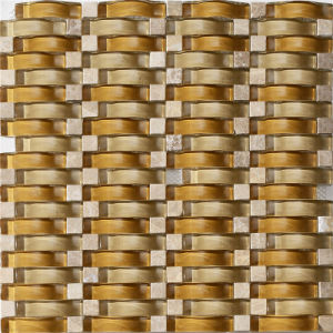 Wave Glass Mosaic Pattern Decorative Art pictures & photos