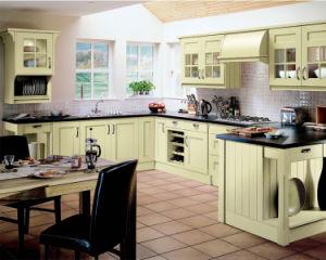 Ritz Free CAD Design Wholesale Wood Kitchen Cupboard pictures & photos