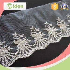 Wholesale Flower Net Lace Rhinestones Cheap Embroidery Applique Lace pictures & photos