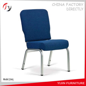 Blue Upholstered Finishing Modern Saloon Chair (JC-130) pictures & photos