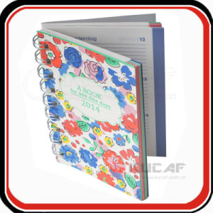 High Quality Custom Printed Spiral Daily Planner Inner Pages pictures & photos