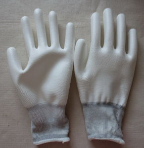 PU Glove 3/4 Dipping pictures & photos