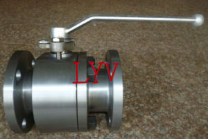 Forged Steel Lever Flanged Ends Ball Valve pictures & photos