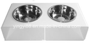 Cheap Plastic Dog Bowls with SGS Certificates pictures & photos