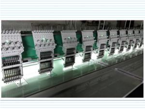 High Effciency Multi Head Flat Embroidery Machine pictures & photos