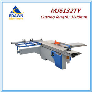 Mj6132tya Model Woodworking Furniture Cutting Machine Sliding Table Saw with Coring Blade pictures & photos