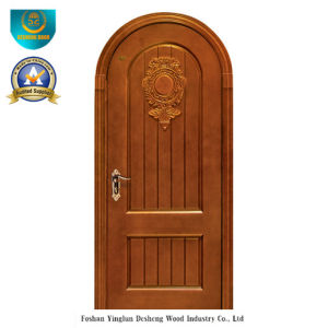 Classic Style Solid Wood Door for Exterior with Carving (ds-036) pictures & photos