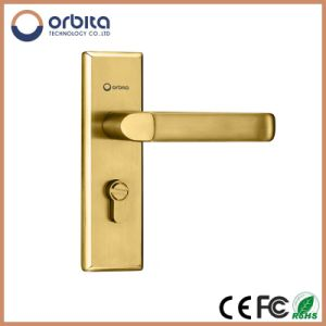 Top10 Professional Manufacturer Stainless Steel High Sercurity Hot-Sale Electronic Hotel Lock with LED pictures & photos