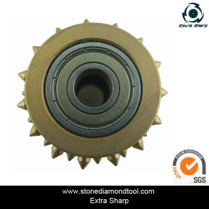 Stone Router Bits Supply Good Quality Bush Hammer Roller pictures & photos