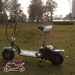 2016 New Design Gas Powerful 49cc 4 Stroke Mini Gas Scooter for Sale pictures & photos