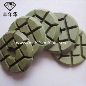 Cr-14 Resin Bond Diamond Rigid Polishing Pads for Wet or Dry Polishing Concrete Floor pictures & photos