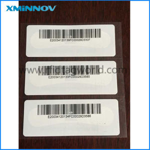 Printable RFID Tamper Evident Windshield Label for Parking Management