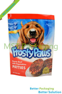 Dog Pet Food Stand up Pouch / Plastic Packaging Bag pictures & photos