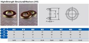 High Strength Structural Washers pictures & photos