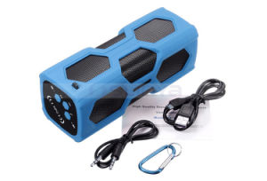 2 in 1 USB4.0 Shockproof Outdoor Super Bass NFC Speaker Waterproof Bluetooth 3D Speaker for Bike Power Bank Speaker pictures & photos
