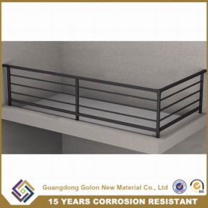 High Quality Galvanized Aluminum Alloy Balcony Fence, Security Railing, Balcony Balustrades pictures & photos