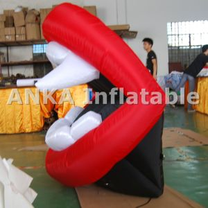 Customized Cartoon Cash Man with Money Inflatable Advertising pictures & photos