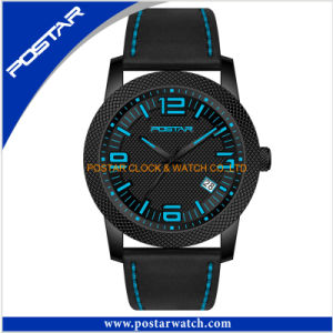 Factory Quartz Watch for Men with Silicone Band High Quality pictures & photos