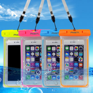 Hot Sale PVC/TPU Waterproof Mobile Phone Bag for Diving pictures & photos
