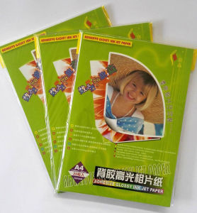180GSM A4 20sheets Glossy Inkjet Photo Paper pictures & photos