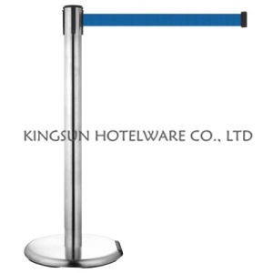 Retractable Belt Stanchion Traffic Barrier pictures & photos