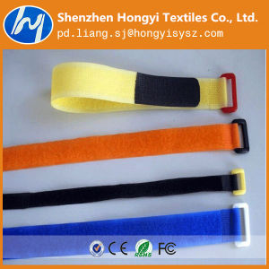 High Quality Bright Color Hook & Loop Velcro Cable Tie pictures & photos