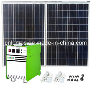 500W Outdoor off Grid Stand Alone Solar System