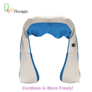 Cordless Kneading Shoulder Back Leg Massage Shawl Body Massager pictures & photos