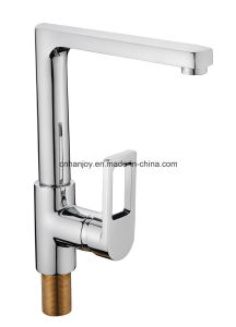 New Model Deck Mounted Single Handle Sink Kitchen Faucet (H03-103S) pictures & photos