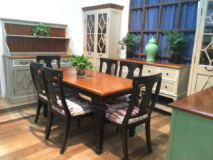 Stereoscopic and Brief Dining Table Antique Furniture pictures & photos