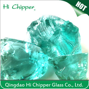 15-30mm Decorative Colored Glass Rock pictures & photos