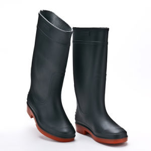 Safety Industrial PVC Rubber Rain Boots pictures & photos