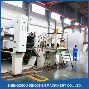 Dingchen Professional Manufacturers Machinery 2400mm Carton Paper Making Machine pictures & photos