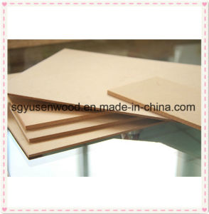 Standard Size or Big Size 2200*2800mm 6mm 8mm Raw Plain MDF Board pictures & photos