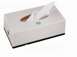 Durable 2-Ply Thickness Paper Facial Tissue Sheets ((N-010) pictures & photos
