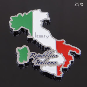 Italy Map Metal Fridge Magnet Souvenir Frigde Magnets Europe pictures & photos