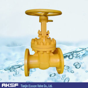 ANSI Ceramic Flange Gate Valve pictures & photos