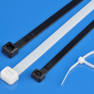 Cable Tie, White, Black, 3.5*300 pictures & photos