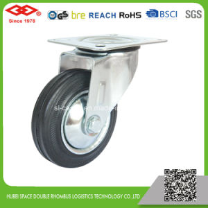 5 Inch Rotating Rubber Wheel Castor (G103-11D125X37.5S) pictures & photos