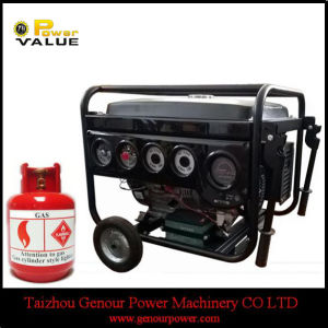 Household China 6kw 6kVA Natural Gas Silent Generator for Sale pictures & photos