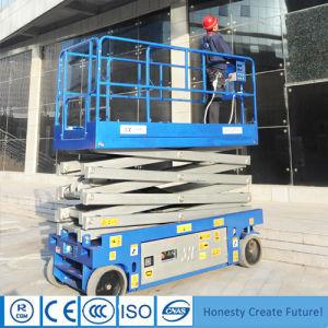Automotive Self-Propelled Electric Scissor Lift Aerial Work Platform Price pictures & photos