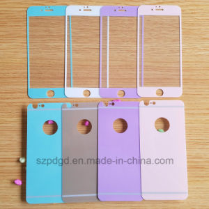 Hot Sales Shimmering Tempered Glass Both Sides Screen Protector for iPhone 6/6s in Stock pictures & photos
