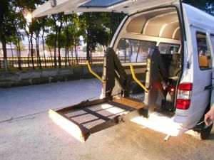 Wheelchair Lift for Van and Minibus (WL-D-880U) pictures & photos