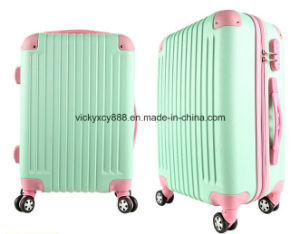 ABS Wheeled Trolley Luggage Travel Boarding Suitcase Case (CY6855) pictures & photos