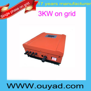 3kw Pure Sine Wave Inverter Grid Tie Inverter Single Phase on Grid Inverter pictures & photos