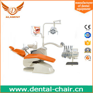 Most Economic Dental Chair with Ceramic Cuspidor pictures & photos