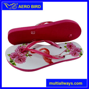 Girls Fashion Style Comfortable PE Footwear (BF15001) pictures & photos