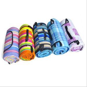 Custom Wholesale Flannel Picnic Mat pictures & photos
