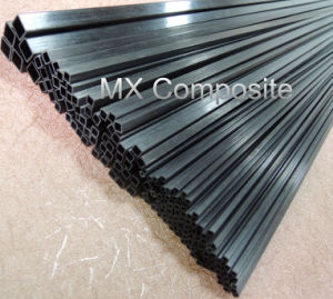 High Strength&Strong Rectangular Carbon Fiber Pipe pictures & photos